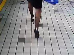 Asian Chinese MILF Stockings