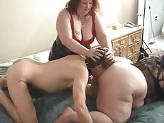 Ass Licking BBW Face Sitting Femdom