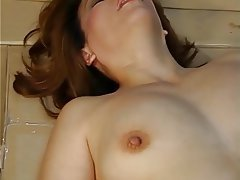 Blowjob Facial Mature Hairy Brunette