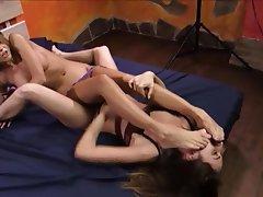 Face Sitting Femdom Foot Fetish Lesbian