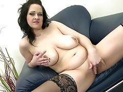 Big Boobs Granny Mature MILF Stockings