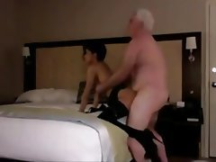 Amateur Asian Old and Young