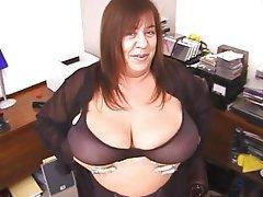 BBW Big Boobs Mature