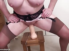 Big Nipples Mature Orgasm