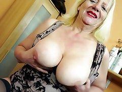 Big Boobs Granny Mature MILF