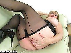 Mature Stockings MILF British