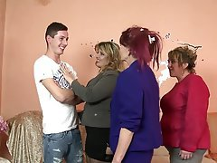 Group Sex Granny Mature MILF