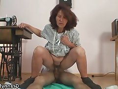 Granny Mature MILF Old and Young Teen