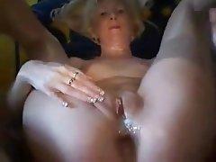 Amateur Anal Blonde Mature