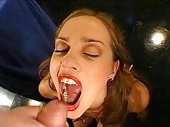 Cumshot Bukkake German Cum in mouth