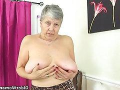MILF British Granny Mature Mature