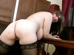 Big Boobs British Masturbation MILF Stockings