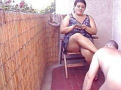 BBW Face Sitting Femdom Indian