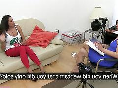 Babe Blowjob Casting Mature