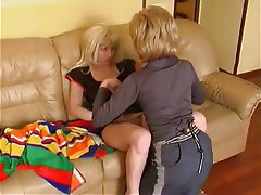 Lesbian Mature MILF Old and Young Russian