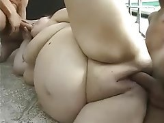 Amateur BBW Facial Mature Threesome