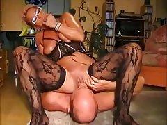 Face Sitting Masturbation MILF Stockings