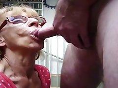 Blowjob Granny Mature
