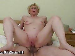 Amateur British Mature Small Tits
