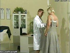 Blonde Facial Hairy Mature Medical